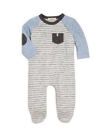 Miniclasix - Boys' Striped Footie - Baby