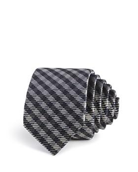 Ted Baker - Tonal Gingham Silk Skinny Tie