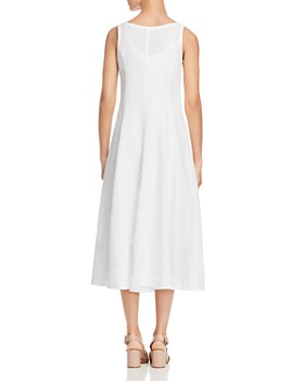 Eileen Fisher - Organic Linen Midi Dress - 100% Exclusive