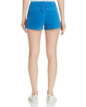 PAM & GELA - Corduroy Lace-Up-Back Shorts