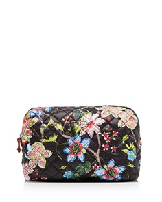 MZ WALLACE - Black Floral Mica Cosmetic Pouch - 100% Exclusive