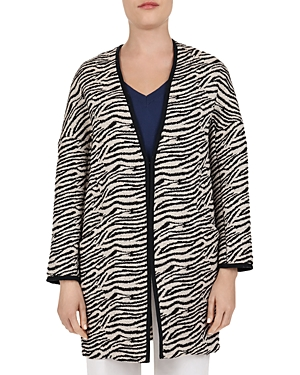 Gerard Darel Lilly Zebra-Pattern Coat