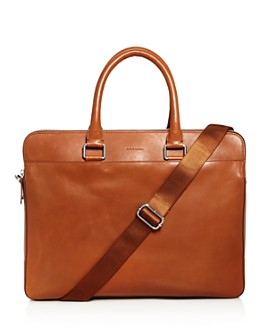 Cole Haan - Men's Leather Warner Briefcase - 100% Exclusive