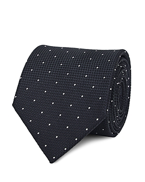 Reiss Liam Dotted Silk Classic Tie