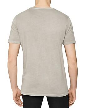 REISS - Heath Garment-Dyed Crewneck Tee