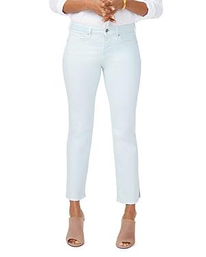 Nydj Jeans MARILYN CROPPED STRAIGHT-LEG JEANS IN DESERT DEW