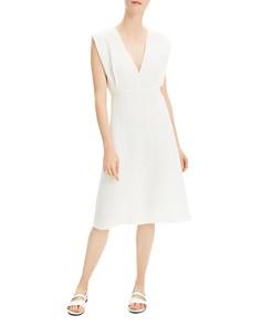 Theory - Deep-V Easy Dress