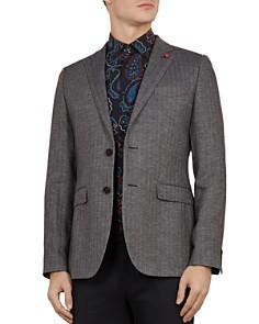 Ted Baker - Balrom Herringbone Regular Fit Jacket