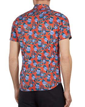 35aded46bc6660 ... Ted Baker - Plataps Floral Print Slim Fit Shirt