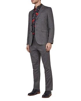 Ted Baker - Balrom Herringbone Regular Fit Suit