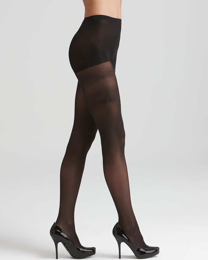 HUE - 30 Denier Sheer Coverage Control Top Tights