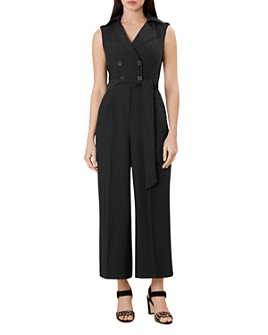 HOBBS LONDON - Sabina Double-Breasted Jumpsuit