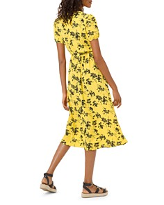 MICHAEL Michael Kors - Botanical Pintucked Dress