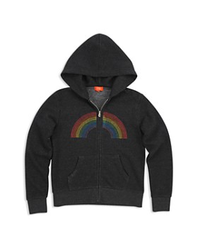 Butter - Girls' Unicorn & Rainbow Zip Hoodie - Little Kid, Big Kid