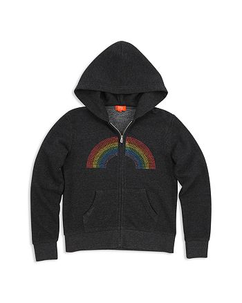 Butter - Girls' Unicorn & Rainbow Zip Hoodie - Little Kid, Big Kid