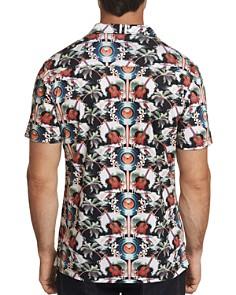 Robert Graham - Tropical Ukuleles Camp Printed Short-Sleeve Slim Fit Shirt
