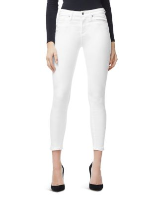 Good Legs Crop Skinny Jeans In White001 by Good American