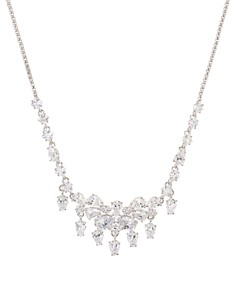 """Nadri - Tulle Frontal Necklace, 17"""""""