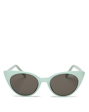 Quay Sunglasses WOMEN'S APHRODITE CAT EYE SUNGLASSES, 50MM