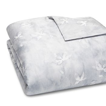 Vera Wang - Ghost Floral Percale Duvet Cover, Queen - 100% Exclusive