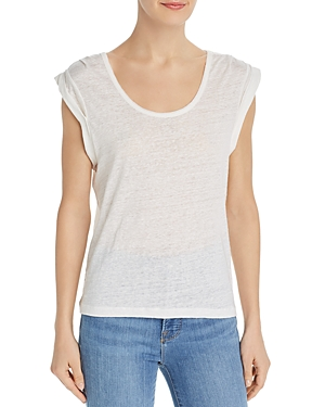 Joie Tops AVERIT CAP-SLEEVE TEE