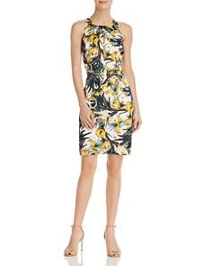 MILLY - Oasis-Print Sheath Dress