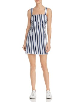 Show Me Your MuMu - Aria Striped Mini Dress