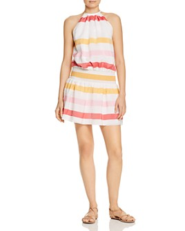 Ramy Brook - Paris Multi-Stripe Blouson Dress