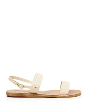 Ancient Greek Sandals - Women's Clio Leather Slingback Sandals