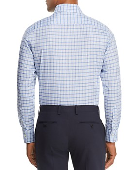 Canali - Mélange Check Regular Fit Sport Shirt