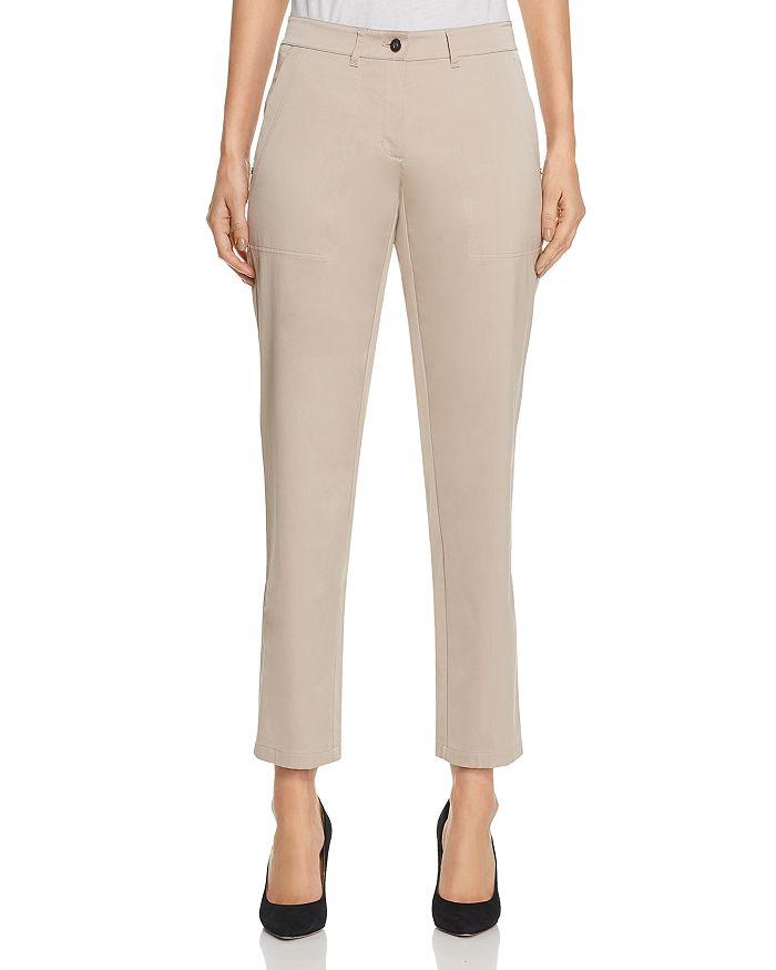 Lafayette 148 New York - Fulton Slim Sateen Pants