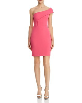 AQUA - One-Shoulder Sheath Dress - 100% Exclusive