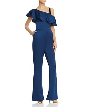 Rachel Zoe - Kelly Flounce-Popover Jumpsuit - 100% Exclusive