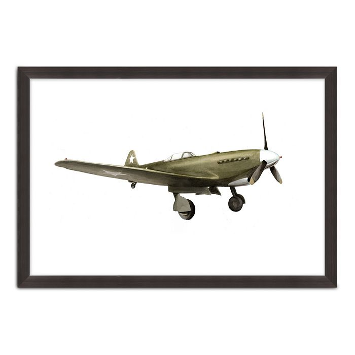 Bloomingdale's Artisan Collection - Vintage Painted Plane VI Wall Art