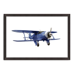Bloomingdale's Artisan Collection - Vintage Painted Plane IV Wall Art