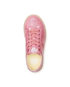 POP SHOES - Girls' St. Laurent Glitter Light-Up Slip-On Sneaker - Toddler, Little Kid, Big Kid