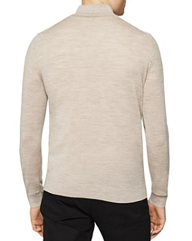REISS - Blackhall Half-Zip Mock-Neck Sweater