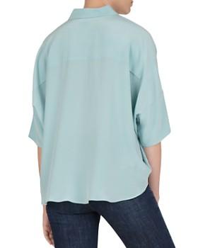 Gerard Darel - Elio Batwing-Sleeve Silk Shirt