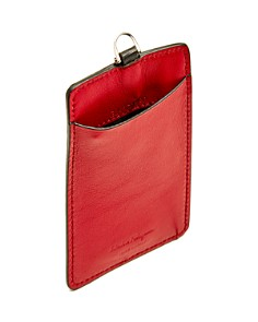 Salvatore Ferragamo - Revival Gancini Leather Lanyard ID Holder