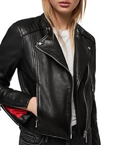 ALLSAINTS - Bircham Leather Biker Jacket