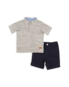 7 For All Mankind - Boys' Polo & Shorts Set - Little Kid