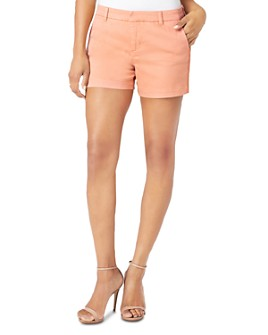 Liverpool Los Angeles - Cole Crochet-Trim Shorts