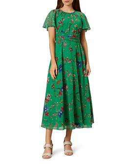 HOBBS LONDON - Sarah Tie-Waist Floral Maxi Dress