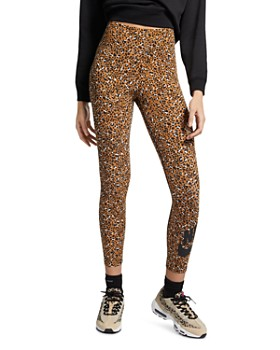 a0c83fbc155 Nike - High-Rise Leopard Print Leggings ...