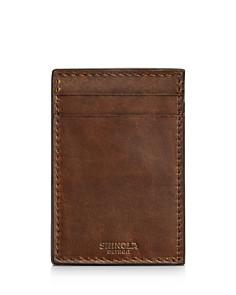 Shinola - Navigator Leather Money-Clip Card Wallet