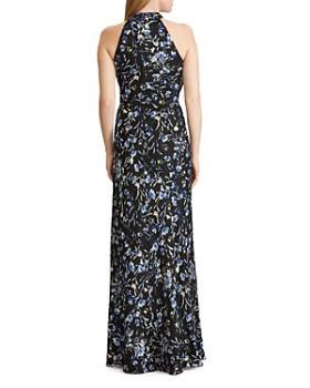 Ralph Lauren - Floral Satin Gown