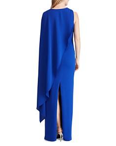 Ralph Lauren - Cape-Overlay Gown