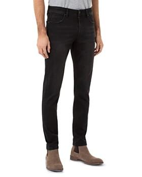 Liverpool - Bond Skinny Jeans in Bullet Dark