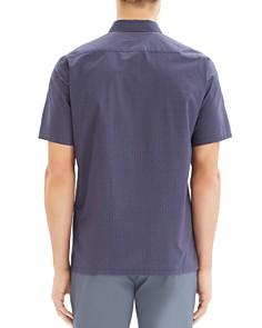 Theory - Irving Sillar Short-Sleeve Geometric-Print Regular Fit Shirt