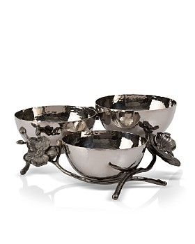 Michael Aram - Black Orchid Triple Nut Dish